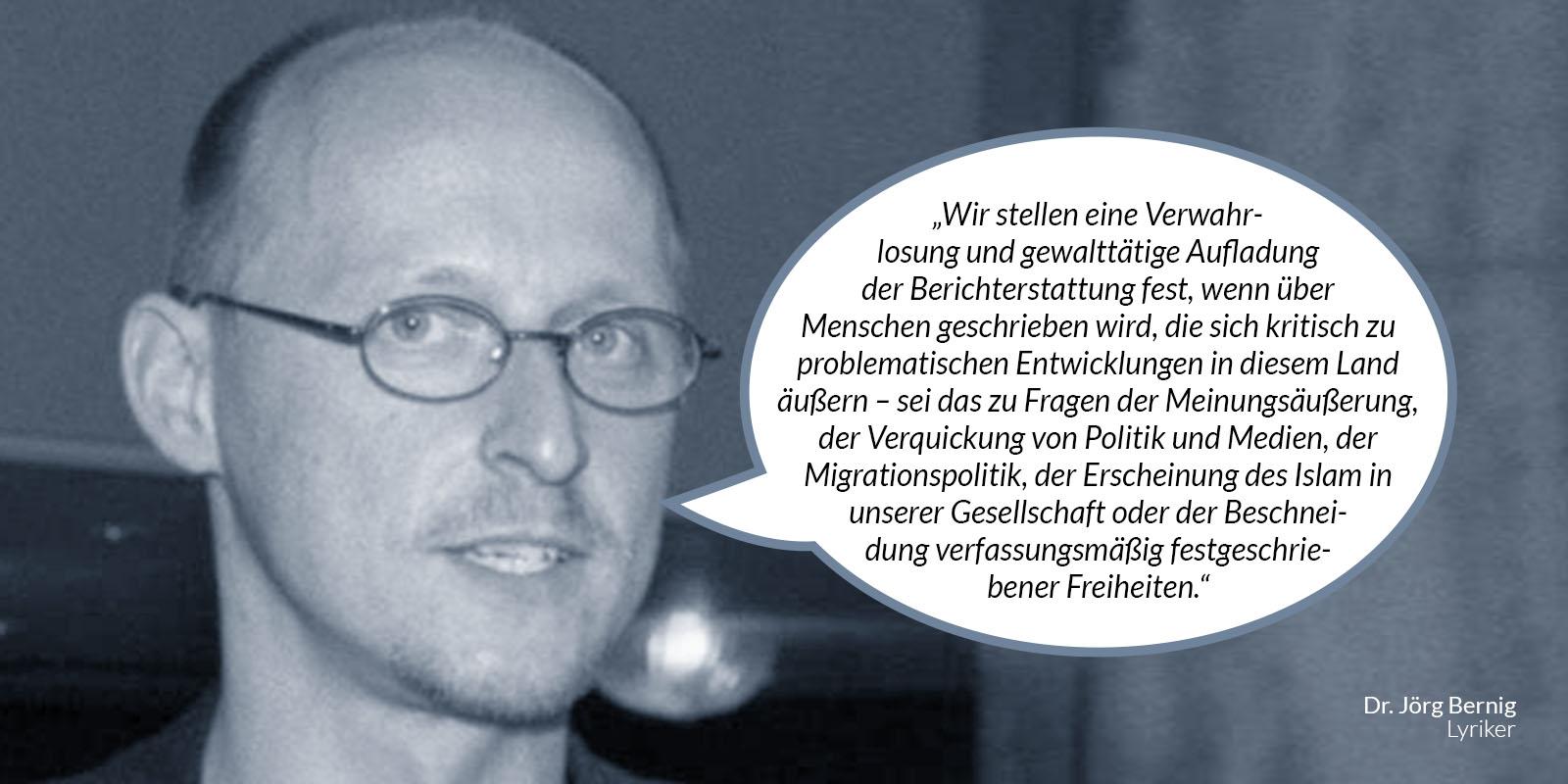 Dr. Jörg Bernig